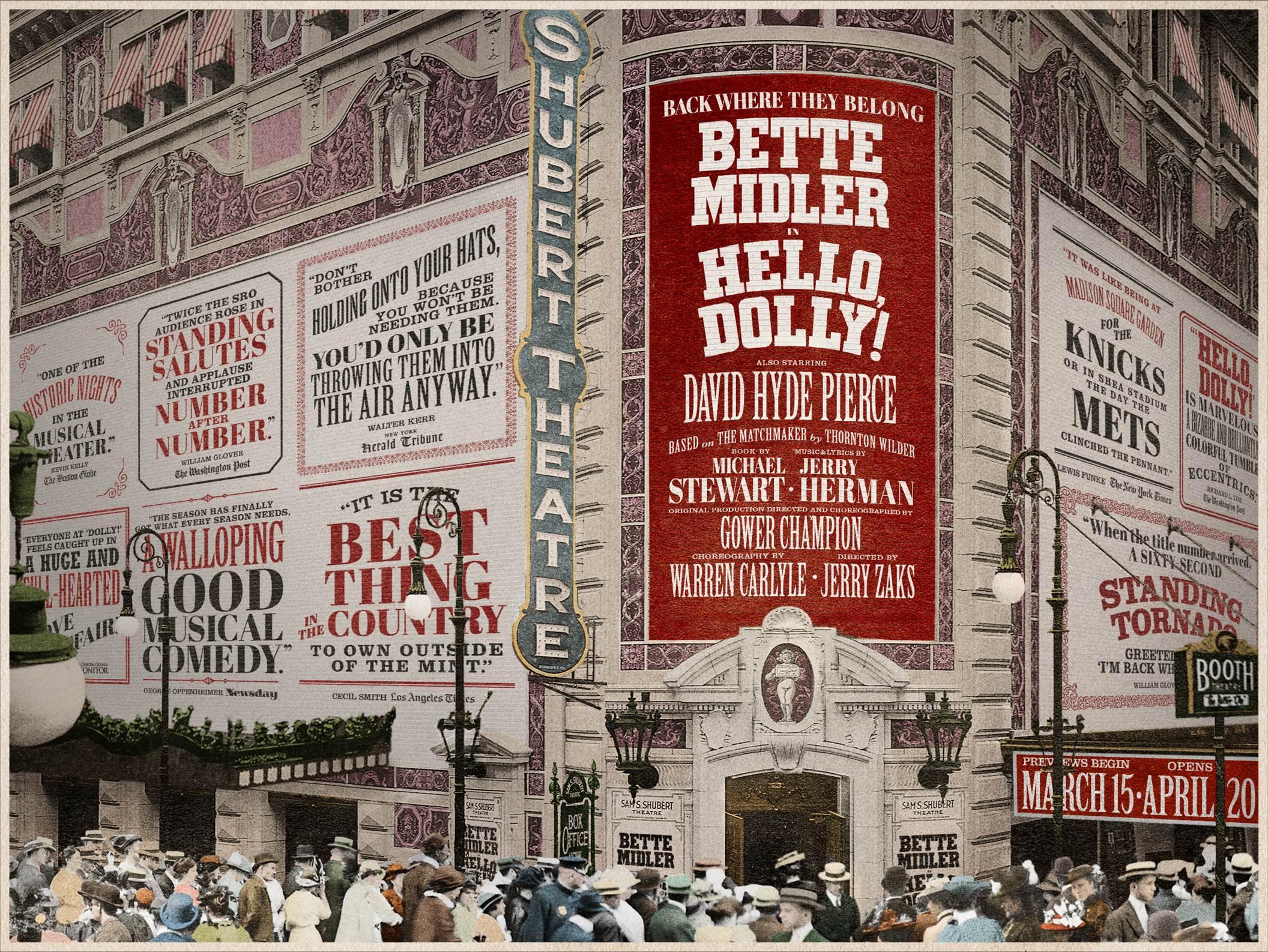 Hello Dolly Breaks Box fice Records Bette Midler